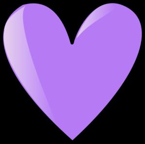 Perriwinkle Blue Heart Clip Art at Clker.com - vector clip art ...