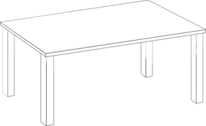 Table For Lilly Clip Art