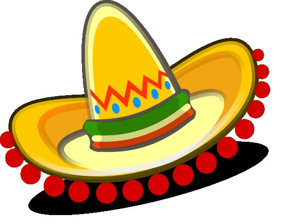 sombrero mexican hat clip art at clker com vector clip art online rh clker com  sombrero clipart free