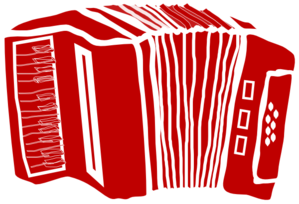 Accordion Clip Art