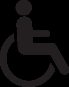 disabled logo clip art at vector clip art. Black Bedroom Furniture Sets. Home Design Ideas