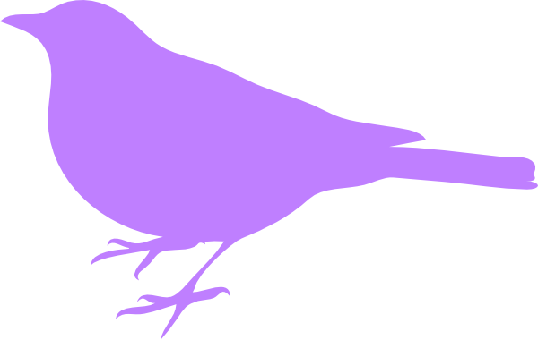 purple bird silhouette clip art at clker com vector clip art rh clker com clipart flying bird silhouette bird branch silhouette clip art
