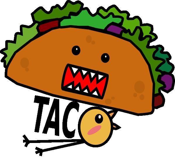 taco mae chick clip art at clker com vector clip art online rh clker com  taco clipart images