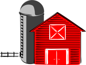 Traditional Barn V2 Clip Art