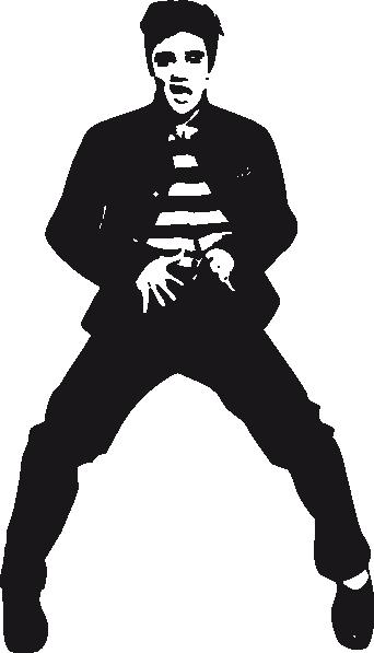 elvis clip art at clker com vector clip art online royalty free rh clker com elvis clip art black and white elvis clip art 2018