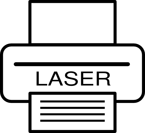 Laser Printer Clip Art at Clker.com - vector clip art online, royalty ...