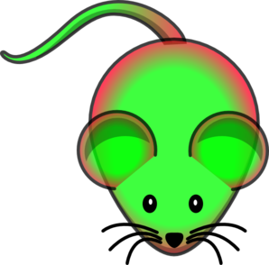 Mcherry/gfp Mouse Clip Art