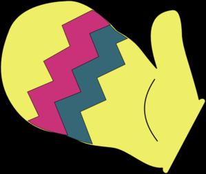 Mitten Clip Art at Clker.com - vector clip art online, royalty ...