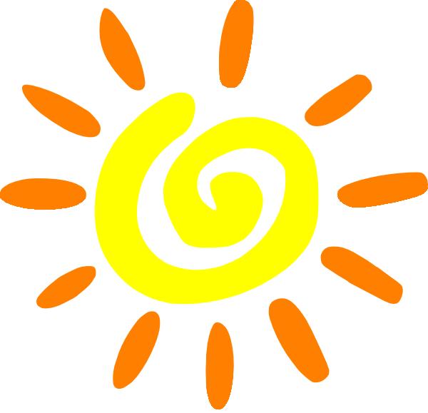Sun Clip Art at Clker.com - vector clip art online ...