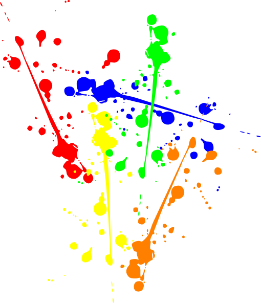 Paint Splatter Clip Art at Clker.com - vector clip art ...