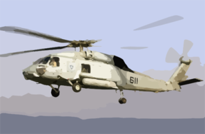 An Sh-60 Seahawk Assigned To The Screaming Indians Of Helicopter Antisubmarine Squadron Six (hs-6 Clip Art