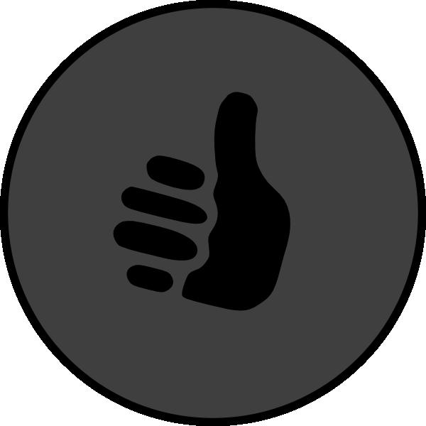 Thumbs Up Symbol Clip Art At Clker Vector Clip Art Online