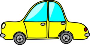 Yellow Car Clip Art