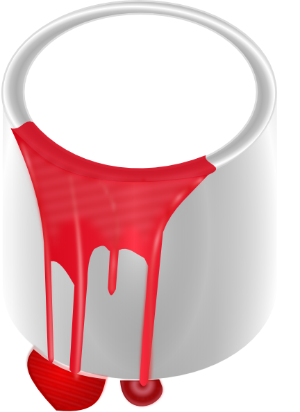 Paint Can Red Clip Art at Clker.com - vector clip art online, royalty ...