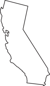 California State Outline Clip Art Clip Art