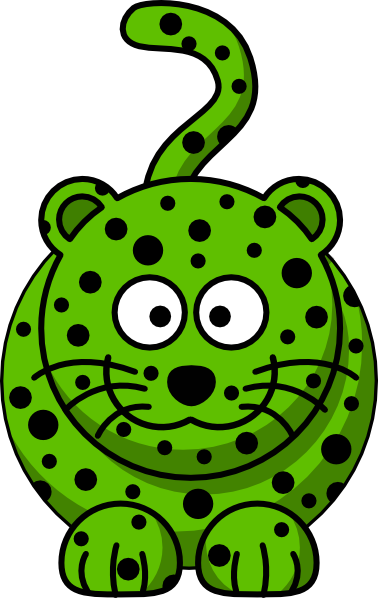 Green leopard print vector - photo#14