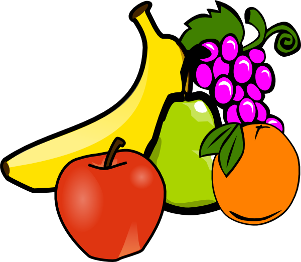 fruit clip art at clker com vector clip art online royalty free rh clker com clipart of fruit basket clip art of fruit and vegetables