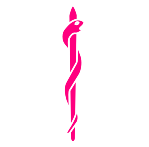 Paramedic Logo - Simple Pink Clip Art