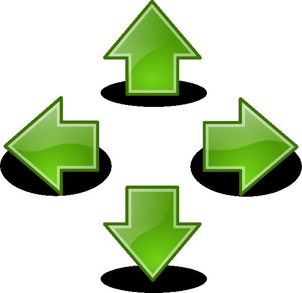 Green Arrows Clip Art at Clker.com - vector clip art ...