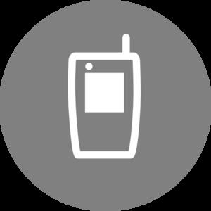 Mobile Icon Clip Art