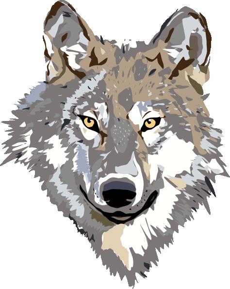 wolf vector clip art at clker com vector clip art online royalty rh clker com wolf vector art wolf vector art