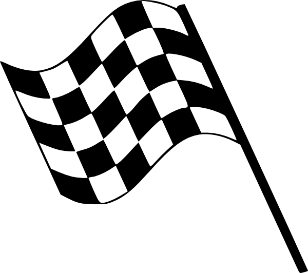 Finish Flags Race Clip Art At Clker Com Vector Clip