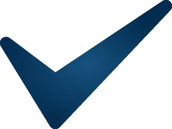 Blue Check Mark Clip Art At Clker Vector Clip Art Online