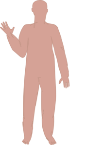 Male Body Four  Clip Art