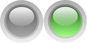 On/off Green Light Clip Art