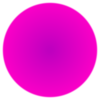 Fuzzy Pink Circle 3 Clip Art