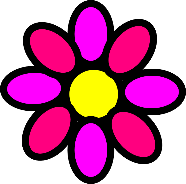 flower power clip art at clker com vector clip art online royalty rh clker com 70's flower power clipart