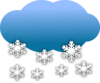 Snow Clouds Clip Art