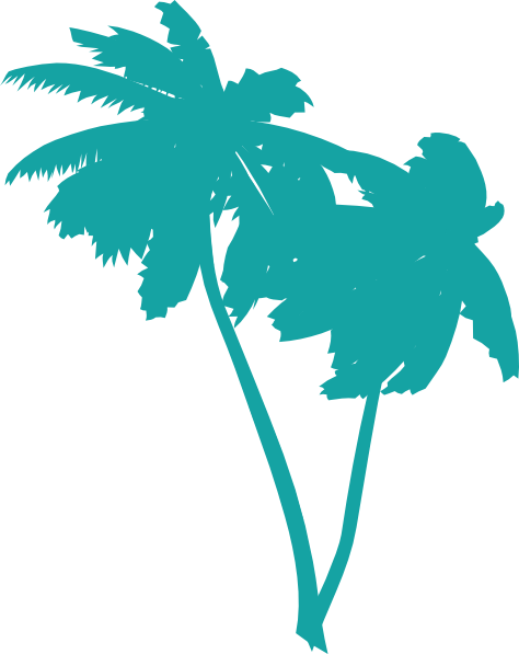 vector palm trees clip art at clker com vector clip art online rh clker com vector palm tree free download vector palm tree silhouette