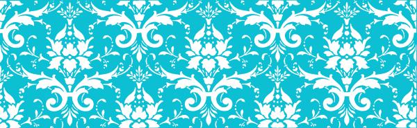 tiffany blue damask clip - photo #3