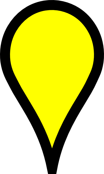 yellow pin clipart - photo #19
