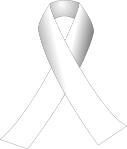 Cancer Ribbon Sketch Clip Art