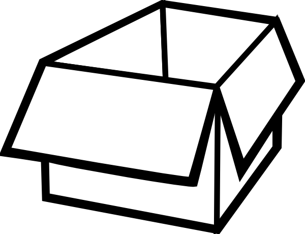 Box Outline Clip Art at Clker.com - vector clip art online, royalty ...