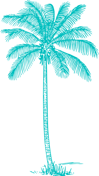 Palm Tree Clip Art at Clker.com  vector clip art online, royalty free