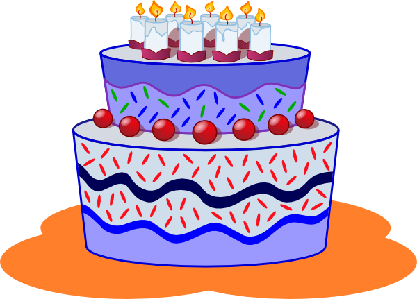 Cake Images In Cartoon : Cake Clip Art at Clker.com - vector clip art online ...