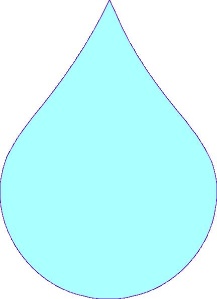 Blue Drop Clip Art at Clker.com - vector clip art online ...