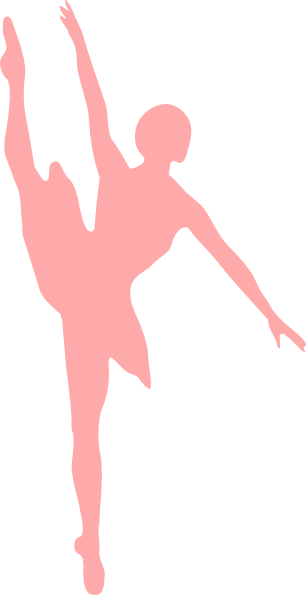 Ballerina Pink Clip Art At Clkercom Vector