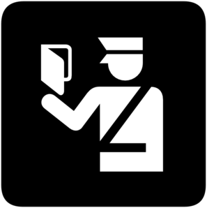 Immigration Police Clip Art