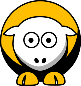 Sheep Pittsburgh Pirates Team Colors Clip Art