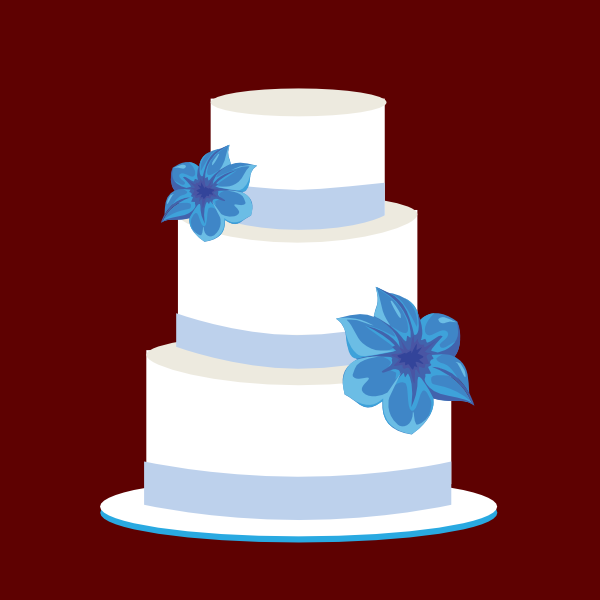 Wedding Cake Logo Clip Art at Clker.com - vector clip art ...