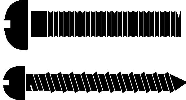 Screws Clip Art at Clker.com - vector clip art online ...