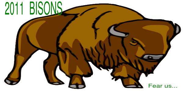 Bison Clip Art at Clker.com - vector clip art online, royalty free ...
