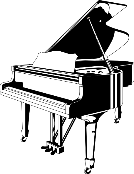 grand piano clip art at clker com vector clip art online royalty rh clker com grand piano clipart Piano Clip Art