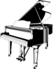 Grand Piano Clip Art