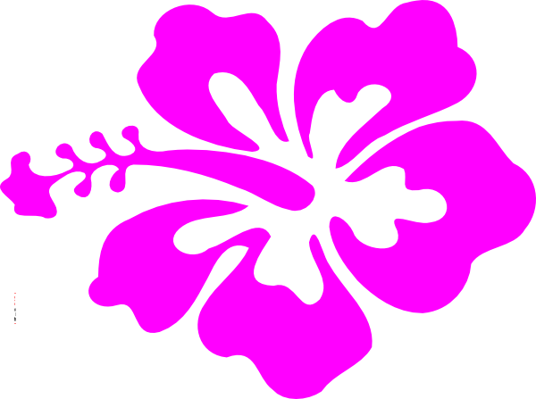 Hibiscus Flower Clip Art At Clkercom Vector Clip Art Online