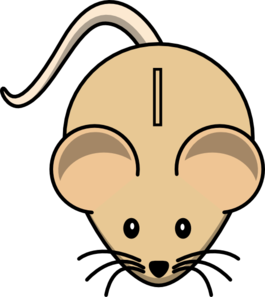 Saving Bank Mouse Clip Art